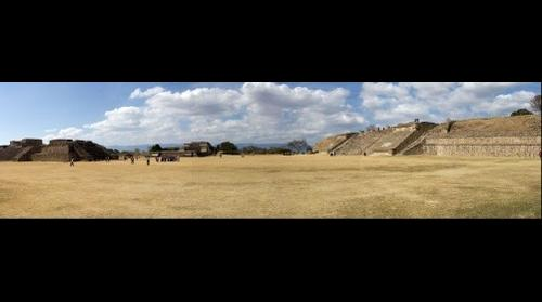 Monte Alban Archaeological Site, Oaxaca
