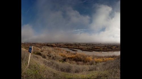 Chevron oil fields in San Ardo California on Highway 101