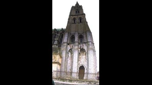 West Tower, Chartres Cathedral, Chartres, France