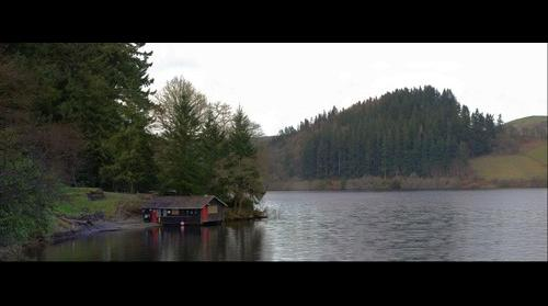 boathouse at vyrnwy