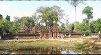 Banteay Srey from inside the outer wall