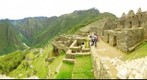View of Machu Picchu ruins
