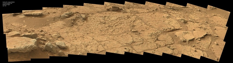 MSL Curiosity MastCam Right Sol 153