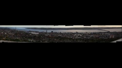 Dundee from Dundee Law
