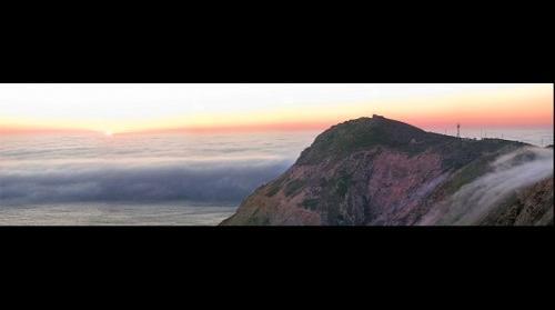 Sunset and Fog Pt. Reyes, CA USA