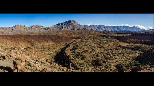 Las Canadas, National park Del Teide, Tenerife, Spain