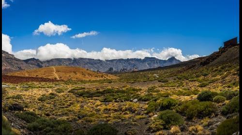 Las Canadas, National park Dek Teide, Tenerife, SPAIN