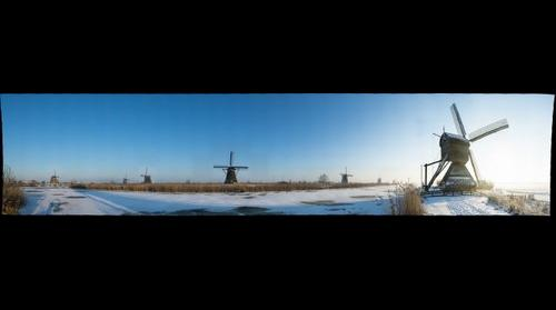 Kinderdijk Dutch Windmills 2 © Roderik van Nispen - www.fotograaf.org