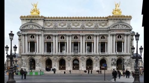 France-Paris-Opera Garnier