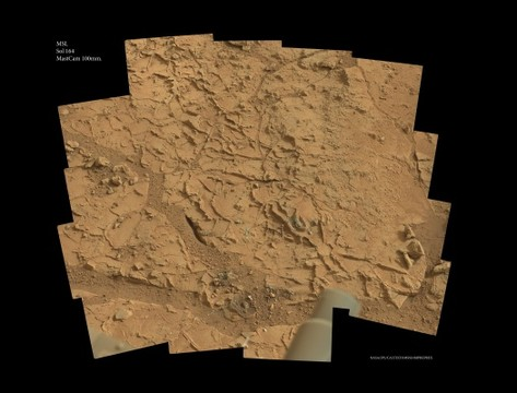 MSL - Sol 164 - MastCam 100mm.