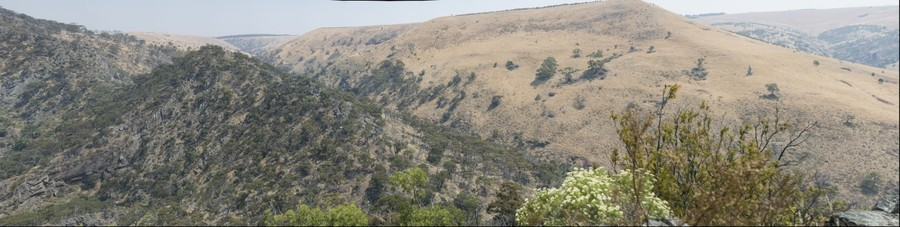 Werribee Gorge Western View