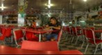 Interior of Ari&#39;s Burger, Iquitos, Peru