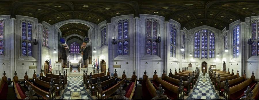 Valley Forge, PA - Wahington Memorial Chapel - Interior - Nikon D800 w 50mm 1.8G