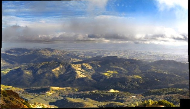 Curry Canyon from Mount Diablo