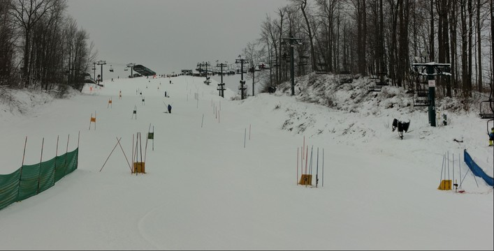 Bittersweet Ski Jr Racers Course 2013