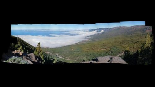 Mirador de Fuente de Mesa - La Fortaleza (Parque Nacional del Teide)