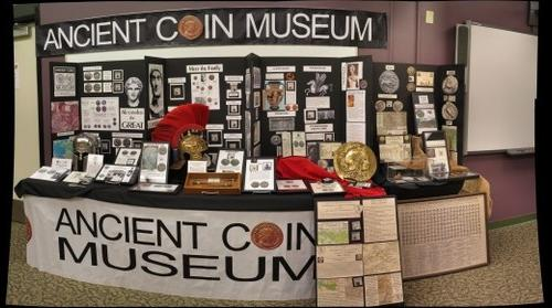 Ancient Coin Museum Exhibit 2013