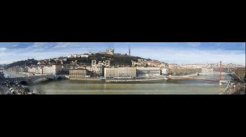 Lyon 77 gigapixels : French largest gigapixel!