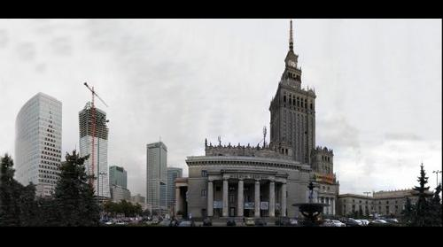 The city center of Warsaw - Palace of Culture and Science 2012 / Centrum Warszawy- Pałac Kultury i Nauki 2012