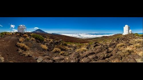 National Park del Teide, Observatory, Tenerife, Canary Island, Spain