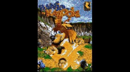 Banjo Kazooie Mosaic