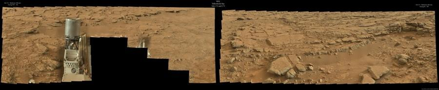MSL - Sols 172 and 173 - MastCam 100 mm. - COMPLETE