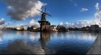 Windmill in Haarlem (The Netherlands)