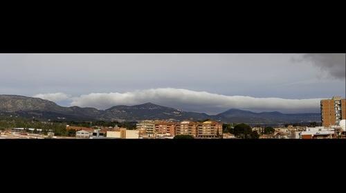 Boira a la Serra de Miramar