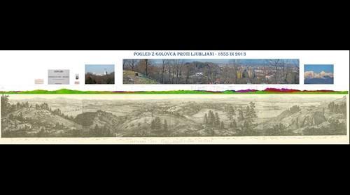 Ljubljana - 1855 & 2013