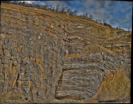 Derrick Quarry near Romney, WV