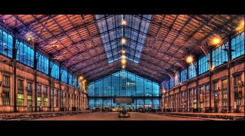 Western railway station, Budapest