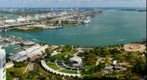 Miami&#39;s Bayside, Bayfront Park, Port of Miami, Cruise Ships and South Beach
