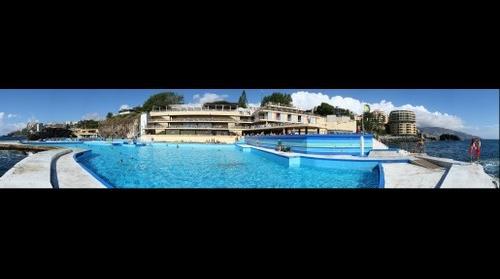 Lido bath, Funchal, Madeira