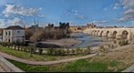 Cordoba's views: Mosque, Guadalquivir River, Roman Bridge (Vista de la Mezquita de Cordoba)