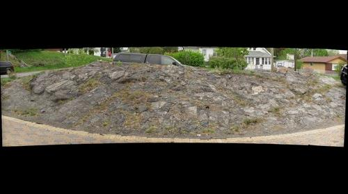 Stromatolites in driveway, Thunder Bay Ontario