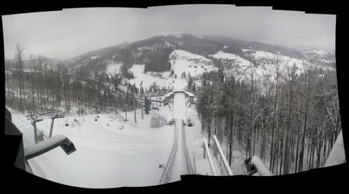 Skocznia narciarska im. Adama Małysza w Wiśle-Malince Poland