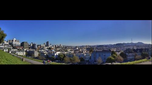 San Francisco as seen from Alta Plaza