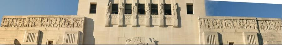 Louisiana State Capitol frieze