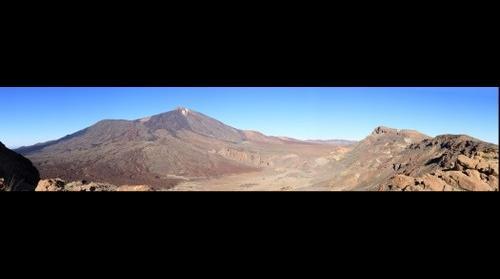 Mount Teide from Las Cañadas caldera rim