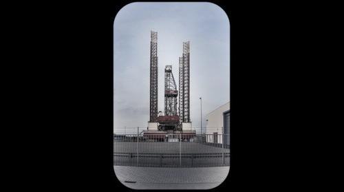 Oil Rig Ijmuiden