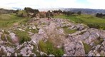 360 degree panorama from above the Temple of the Moon, Cusco