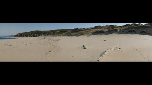 Aire River beach