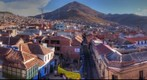 360 view of Potosi, Bolivia