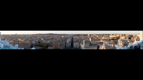Rome from the Vittoriano