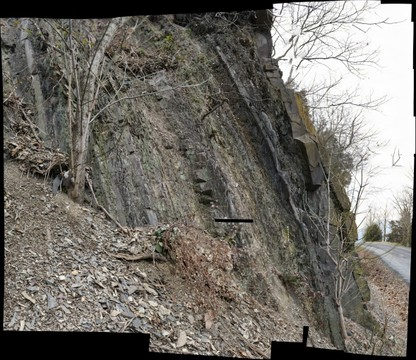 Martinsburg Formation, Millner Road (near Deer Rapids Road), Shenandoah County, Virginia