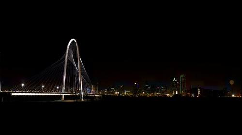 Margaret Hunt Hill Bridge over the Trinity River Dallas, Texas