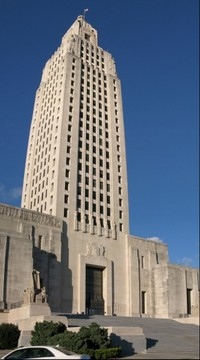 State Capitol, Baton Rouge, Louisiana, USA