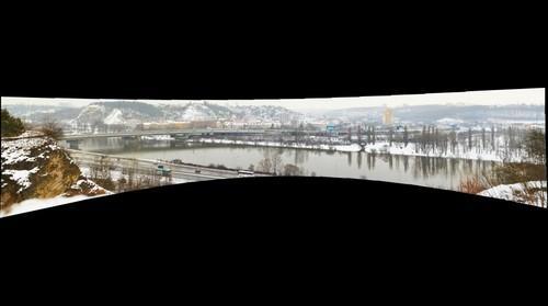 Branicke udoli, barandovsky most