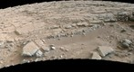MSL Curiosity Mastcam 100 near-medium field panorama of Yellowknife Bay Area - late afternoon Sol 173