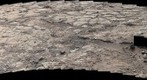 MSL Curiosity Mastcam 100 near-medium field panorama of Yellowknife Bay Area - Sol 198